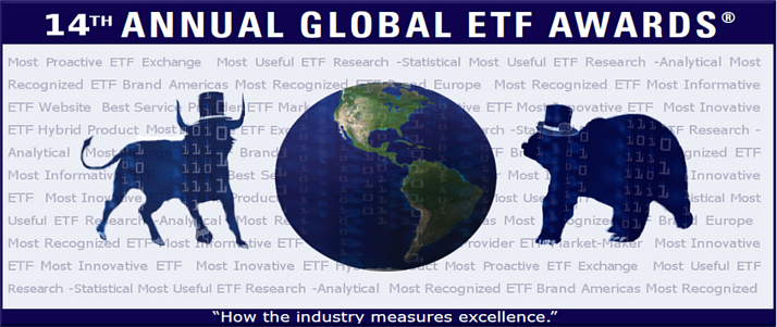 Welcome to the 14th Annual Global ETF Awards